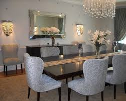 Mirror Dining Room Tables Eliza Mirrored Dining Table Mirrored Legs And Moulding Finish In