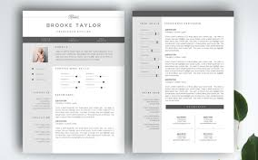 the best cv  amp  resume templates   examples   design shackthe package includes  paged resume  a matching cover letter  matching business card and necessary fonts  resume and business card templates come in