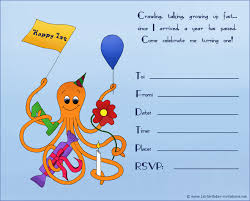 20 cute 1st birthday invitations printable and original happy octopus on birthday invitation for first birthday