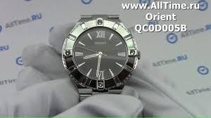 Обзор. Женские наручные <b>часы Orient QC0D005B</b> - YouTube
