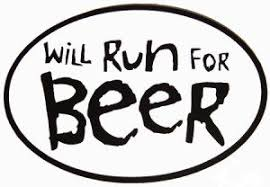 beer and running