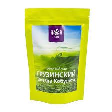 <b>Чай зеленый Грузинский Звезда</b> Кобулети, 75 г — купить в ...