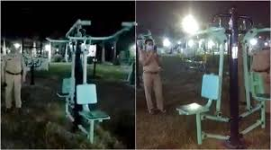 Fitness freak <b>ghost</b>? Jhansi <b>Police</b> reveal truth behind viral video of ...
