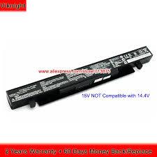 15V 2950mAh A41 X550A <b>Original Battery For ASUS</b> X550D X550B ...