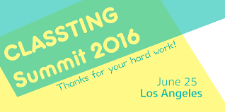 classting author at the first ever classting summit was held in los angeles on 25 2016 the theme thank you for your hard work we invited classting users and their