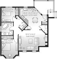 Geary Place Triplex Townhouse Plan D    House Plans and MoreMulti Family House Plan Lower Level Floor   D    House Plans and