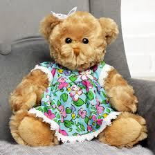 """Мягкая <b>игрушка</b> """"Медведица, <b>девушка в</b> цветочек"""", 30 см (2584846)"""