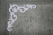 4 corner pieces shabby chic appliques onlays furniture mouldings diy appliques for furniture