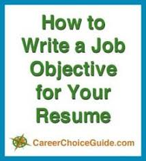 ideas about resume objective on pinterest   resume examples    how to write resume job objectives