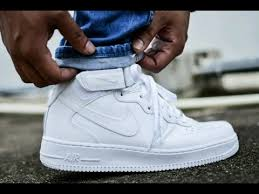 nike air force 1 mid white on white unboxing and on feet review air force 1 mid