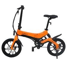 <b>ONEBOT S6</b> Folding <b>Electric</b> Bike 250W Motor Max 25km/h Orange