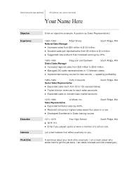 resume sample template resume sample