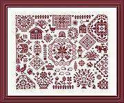 <b>Jardin Prive</b> Cross Stitch Patterns - 123Stitch.com