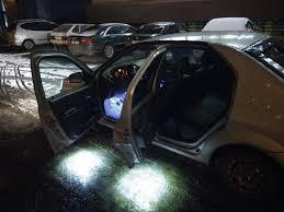 <b>Подсветка</b> ног и <b>зоны высадки</b> — Renault Logan, 1.6 л., 2008 года ...