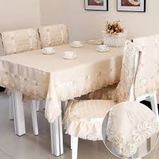 Tablecloth For Dining Room Table Fashion Luxury Dining Table Cloth Gold Quality Jacquard Tablecloth
