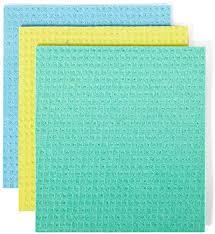 Full Circle <b>Squeeze Cellulose Cleaning Cloths</b> 3-Pack, Assorted ...
