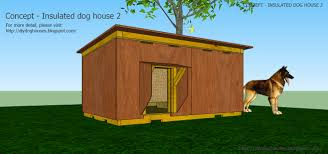 Dog House Plans  Concept   Insulated dog house From Concept   Insulated dog house