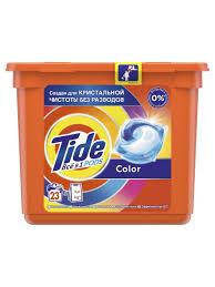 <b>Капсулы</b> для <b>стирки</b> Всё-в-1 <b>Color</b>, 23 шт. <b>Tide</b> 5651787 в ...