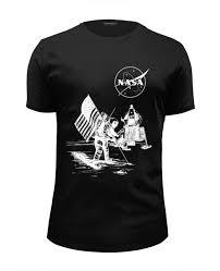 Футболка Wearcraft Premium Slim Fit <b>NASA</b>   <b>НАСА</b> #2712998 от ...