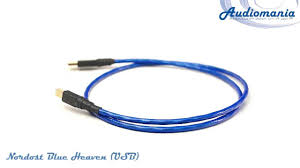 <b>Кабель Nordost</b> Blue Heaven (<b>USB</b>) - YouTube