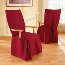 Red Dining Room Chair Covers Dining Room Chair Slipcovers Chocoaddictscom Chocoaddictscom