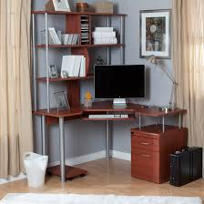 ravishing office furniture small l computer desks with brown wooden corner table bookshelf and storage using astounding small black computer