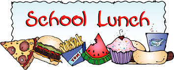 Image result for clip art school lunches