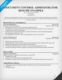 document controller sample resume   document control resume sample    document control resume sample