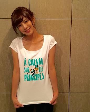 Tシャツの堤アナ
