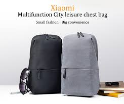 Original Xiaomi <b>Backpack</b> Sling Bag <b>Mi Urban</b> Leisure Chest Pack ...