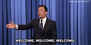 Image result for welcome gif