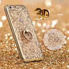 For IPhone 7 Case Luxury 3D <b>Soft Ring Case</b> Coque For IPhone X 5 ...
