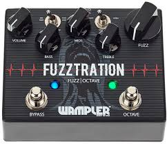 WAMPLER FUZZTRATION Гитарная педаль FUZZ+<b>OCTAVE</b>, без ...