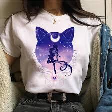 <b>WVIOCE Fashion</b> Kawaii Cartoon Printed <b>Women</b> T Shirts <b>Summer</b> ...