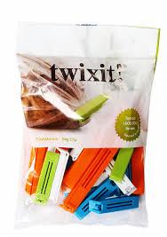 <b>Набор зажимов для пакетов</b> twixit! 20 шт(15 шт по 6см + 5 шт по ...