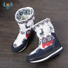 Girls Winter Boots Children snow boot kids <b>new design</b> Christmas ...
