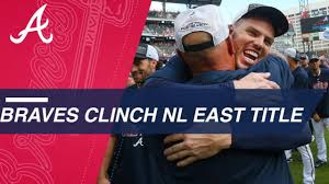 Braves capture NL East division crown - YouTube