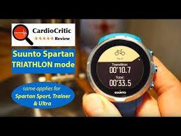 Suunto Spartan Triathlon <b>Mode</b> - one touch transition - Swim - <b>Bike</b> ...