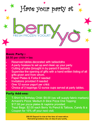 berry yo birthday bash berry yo feel