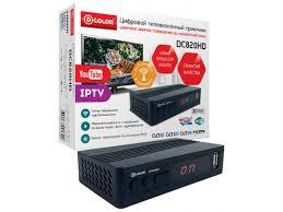 Купить tv-<b>тюнер D</b>-<b>COLOR DC820HD</b> по цене от 1195 рублей - tv ...