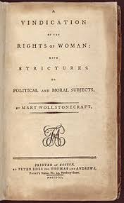 a vindication of the rights of woman   wikipedia page reads quota vindication of the rights of woman with strictures on political and