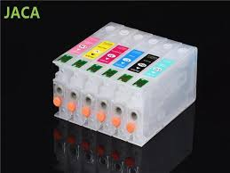 <b>1Set</b> RX700 <b>Ink</b> Cartridge T5591-T5596 Empty <b>Refillable Ink</b> ...