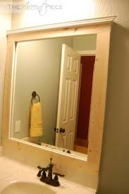 wood bathroom mirror digihome weathered: bathroom medicine cabinets with mirrors and lights gudgar com
