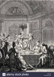 daily life in french history an aristocratic supper in th daily life in french history an aristocratic supper in 18th century during reign of louis xv high society dining