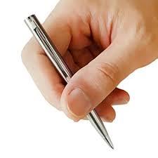 <b>1Pcs</b> Mini Metal <b>Ballpoint Pen</b> Rotating Pocket-Size Pen Portable ...