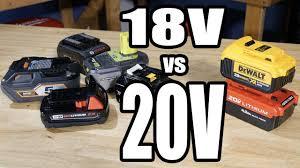 18V vs 20V <b>Max</b> Batteries - Which is Better? - YouTube