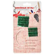 <b>Набор швейных игл</b> 26шт с нитевдевателем, сталь, DF-801 в ...