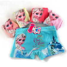 <b>1pcs</b> Girl <b>underwear</b> Anna Elsa <b>underwear</b> girl cotton <b>pants for kids</b> ...