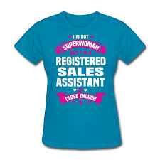 registered sales assistant t shirt spreadshirt registered sales assistant