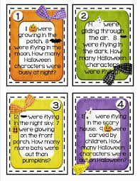 lory s nd grade skills halloween math story problems if you were able to purchases the mini halloween erasers found in target s dollar spot pull them out because they ll make great manipulatives